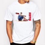 Justin bieber T-Shirt Men/Women Hip Hop hole Sleeve O-neck T Shirt Tee Brand clothing personality design big boy T shirt 74-4#