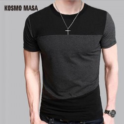 KOSMO MASA 2017 12 Designs Mens T Shirts Slim Fit Crew Neck T-shirt Casual Tshirt Mens Anime Hip Hop Short Shirt 5XL MC0136