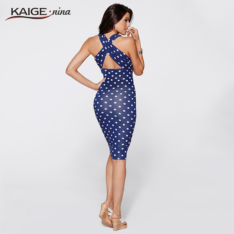 Kaige.Nina New Retro-Chic Fashion Summer style Women Bodycon Dress ...