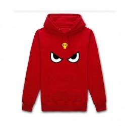 Keroro Giroro Hoodies Eyes Print Red Men Hoodies Harajuku Fleece Sweatshirts Moleton Masculino Free Shipping