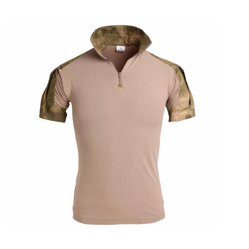 83ab61422ec8 MAGCOMSEN Men Camouflage T-shirt Men Cotton Army Tactical Combat T Shirt  Military Men Short Sleeve ...