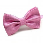 Mantieqingway Novelty Wedding Party Polyester Bowtie Noeud Papillon Men Women Bow Tie Solid Color Bolo Neckwear Cheap Cravat