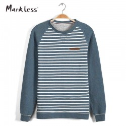 Markless Autumn New Fashion Mens Loose Hoodies Pullover European and American Style Men Patchwork Turtleneck Hoody Trend