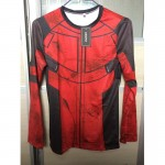 Marvel Deadpool  long-sleeved compression t shirt men Deadpoolt 3D printing cosplay t-shirts 2017 summer fitness tights T-shirt