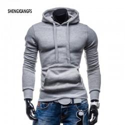 Men Hoodies Sweatshirts Men's Fashion Clothing Spring Winter Sportswear Slim Pullover Hoodies Drawstring hood Hip hop sweatshirt
