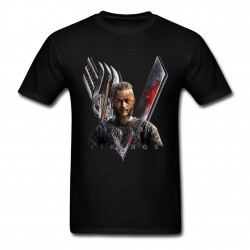 Men T Shirt Sons of Odin Vikings T Shirt hip hop mens Cotton Camiseta 2017 summer style Hip Hop Shirt