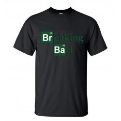 Men's 2016 Breaking Bad Printed T Shirts Fashion Heisenberg Summer Short Sleeve T-Shirt Round Neck Streetwear Hip Hop Tops Tees