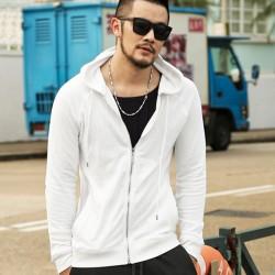 Men's Hoodie Fashion Casual Men Hooded Jacket Mens Winter Coat Casual Jackets Men Sweatshirts Plus Size