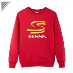 Men's Winter Brand New HERO F1 AYRTON SENNA dresses for men plus Size SX~2XL Casual long-sleeved Sweatshirt Tees Hot Sell dress