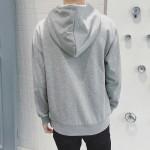 Mens New Spring Autumn Solid Hoodies Sweatshirt 2017 Fashion Brand Thin Tracksuit Hombre Slim Fit Clothes Plus Size M-3XL