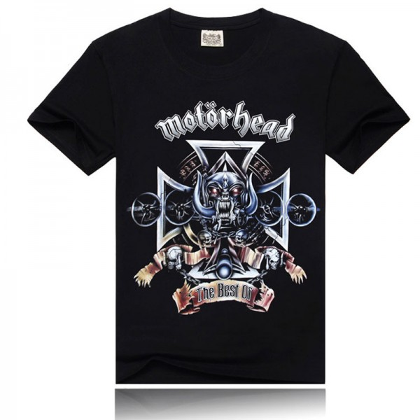 Motorhead 3d printed t shirts,summer style brand t-shirt,2015 men's fashion new style t shirt,100% cotton t-shirt men!2035