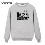 Movie The Godfather cotton  Fleece Hoodies Sweatshirt Men O Neck Casual Unique Design Top Man Clothing Plus Size