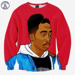 Mr.1991INC Hip Hop sweatshirt men 3d print rap singer Tupac 2pac fashion tops hoodies lovely clothes thin slim pullover