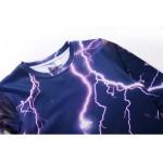 Mr.1991INC New Fashion Men/Women Hoodies Long Sleeve Fleece Sweatshirt 3d Print Cat Lightning Autumn Winter  Jacket