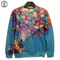 Mr.1991INC New fashion Autumn winter Men/Women's cotton 3d hoodies print Flamingo/Jackson/dog 3d sweatshirts
