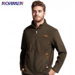 NORMEN Brand Clothing Men's Casual Solid Hoodies Fashion Fleece Tracksuit For Men Top Grade EUR Size Plue Size