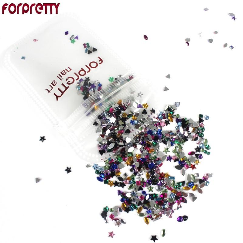 Nail Art Decorations Glitter Nails 3D Accessories Rhinestones ...