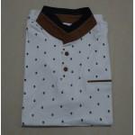 New 2017 Brand POLO Shirt  Men Cotton Fashion Skull Dots Print Camisa Polo Summer Short-sleeve  Casual Shirts MT437