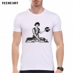 New 2017 Summer Fashion Bruce Lee  Design T Shirt Men's High Quality MMA Tops Hipster Tees Cool Chinese pa820