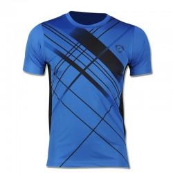 New Arrival 2017 men Designer T Shirt Casual Quick Dry Slim Fit Shirts Tops & Tees Size S M L XL LSL133
