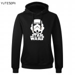 New Autumn Winter Star Wars Hoodies Men Heavy Metal Sweatshirt with starwars Men Hip Hop high quality hoody