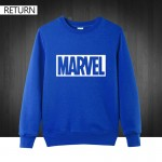 New Brand Marvel men Hoodies Printing Pullover quality cotton Casual men O neck marvel Sweatshirts men free shipping