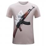 New Brand Mens Fashion T-Shirt  2017 Short O-neck Print T-shirts 3D T-shirt S-6XL For Men Free Shipping