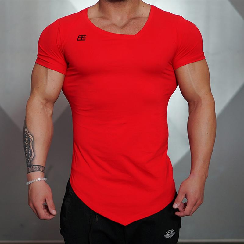 New Design Male Novelty Men T Shirt Fashion The Milk Silk Oblique V Neck Hip Hop T Shirt Men Casual Short Sleeves T Shirt Men Br