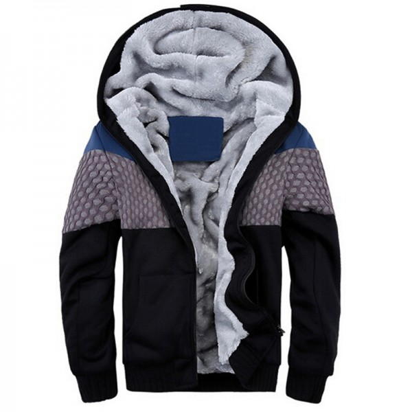 New Fashion Men Sweatshirt Winter Thick Hoodies Cotton Hoodie Coats Tracksuit Men fleece Cardigans mens sweatshirts 4XL 5XL