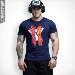 New Mens T shirt Fashion Cotton Tshirt Men Big Tall Men Clothing Crew Neck t-shirts High Quality Casual camisas masculinas 6020