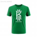 New Summer fashion Kyrie Irving Logo men's Tees top high quality Tshirts warm clothes T Shirts Free Shipping