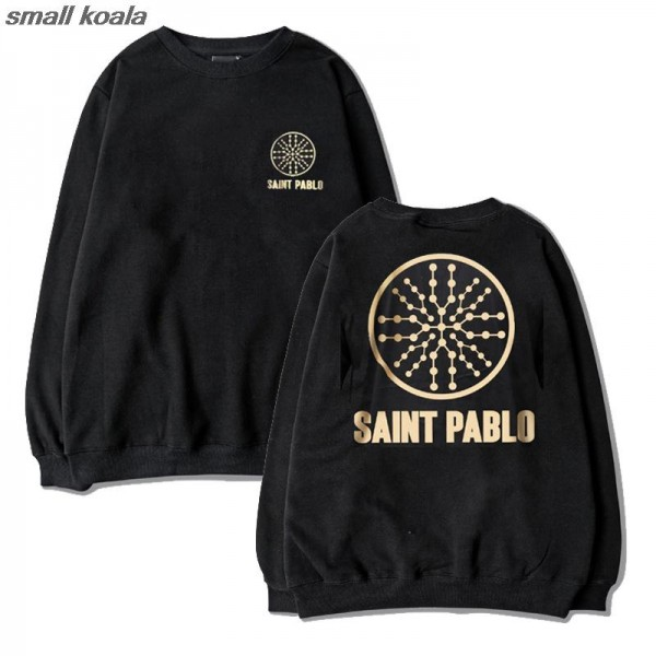 New hoodies and sweatshirts Kanye West Saint Pablo World Tour season O neck hoodies fashionable men and women