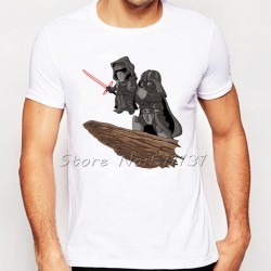 Newest Fashion Cool Star Wars Lion King Printed T-Shirt Summer Novelty Cartoon T Shirt Mens Hipster Short Sleeve Tee Tops