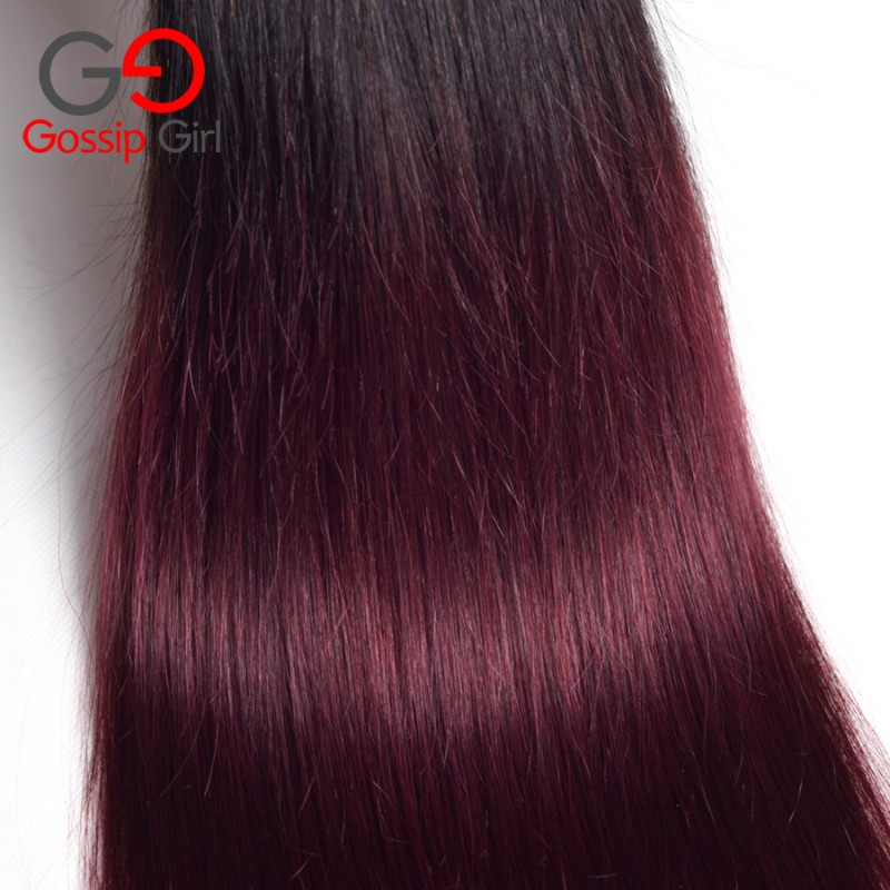 Ombre Brazilian Hair Straight 1b 99jburgundy Brazilian Hair 3