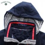 Ouma standard size!2016 brand men's double pocket long sleeve hoodie sweatshirt casual hooded men hedging Hoody big yards
