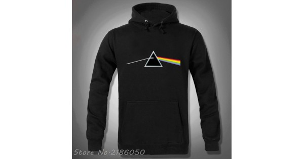 Pink Floyd Hoodies Rock And Roll Band Dark Side Of The Moon Mens Hooded