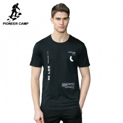 Pioneer Camp 2017 New T-shirt men brand-clothing fashion T shirt male top quality 100% cotton casual Tshirt for men ADT701073