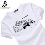 Pioneer Camp 2017 new fashion mens t shirt short sleeve casual active male men fitness tshirt  t-shirt long sleeve in stock