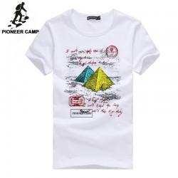 Pioneer Camp Free shipping! new 2017 fashion men t shirt short sleeve cotton casual personality male t-shirt men  wear men