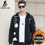 Pioneer Camp Hip hop hoodies men brand clothing autumn winter warm male sweatshirt  streetwear Hip-Hop hoodie hoodies men 622162