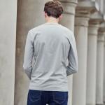 Pioneer Camp Long Sleeve T-shirt men Environmental Friendly Print T Shirt male Casual fashion Tshirt Brand-Clothing 699007