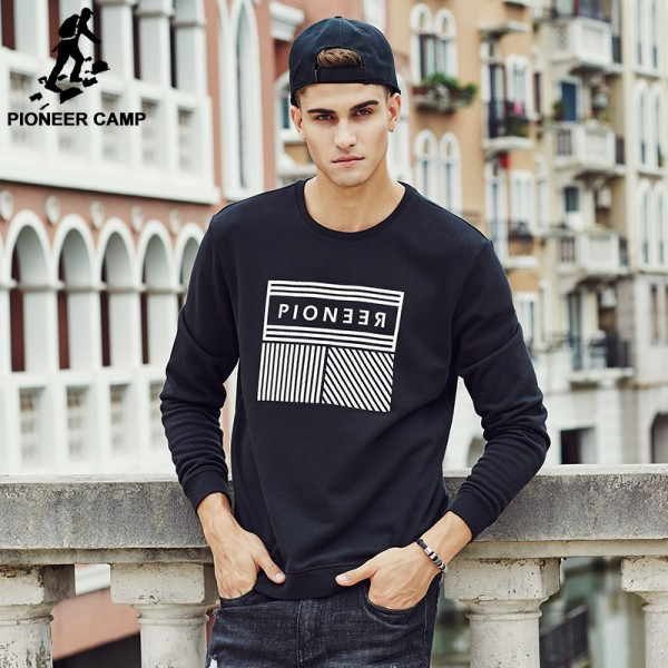 Pioneer Camp Men Hoos 2017 Band New Design Casual Spring Fashion Sweatshirts Male Masculine Top Quality 699030