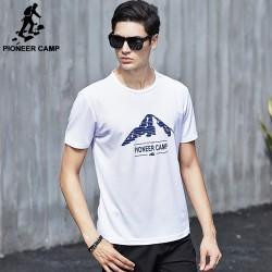 Pioneer Camp New Summer T shirt men brand clothing short quick dry Tshirt male high quality fashion casual T-shirt 522038