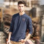 Pioneer Camp new fashion 2017 mens t shirt brand clothing thick T-shirt male cotton comfortable top quality elastic soft Tshirt