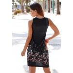 Print floral sleeveless summer dress ladies 2016 casual new slim sexy street dresses for women hot sale sexy midi sundresses