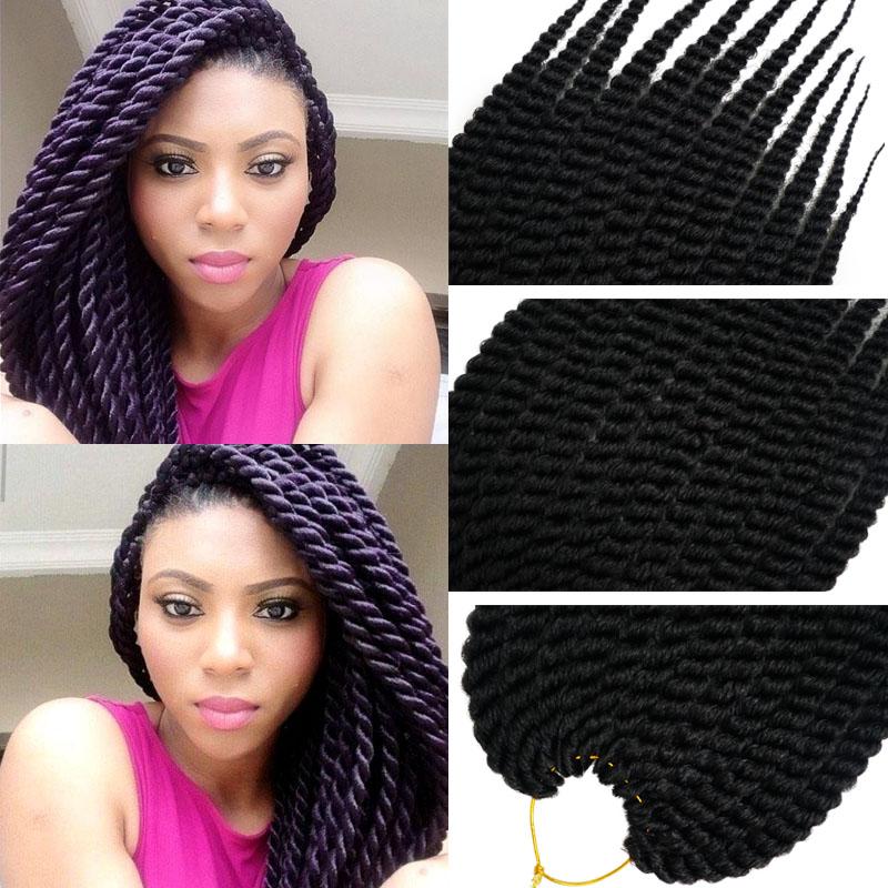 Quality Havana Mambo Twist Crochet Braid Hair Synthetic Crochet
