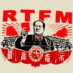 RTFM it crowd funny t men unisex straight cut short sleeve t-shirt  o-neck 100% ringspun american cotton big size free shipping