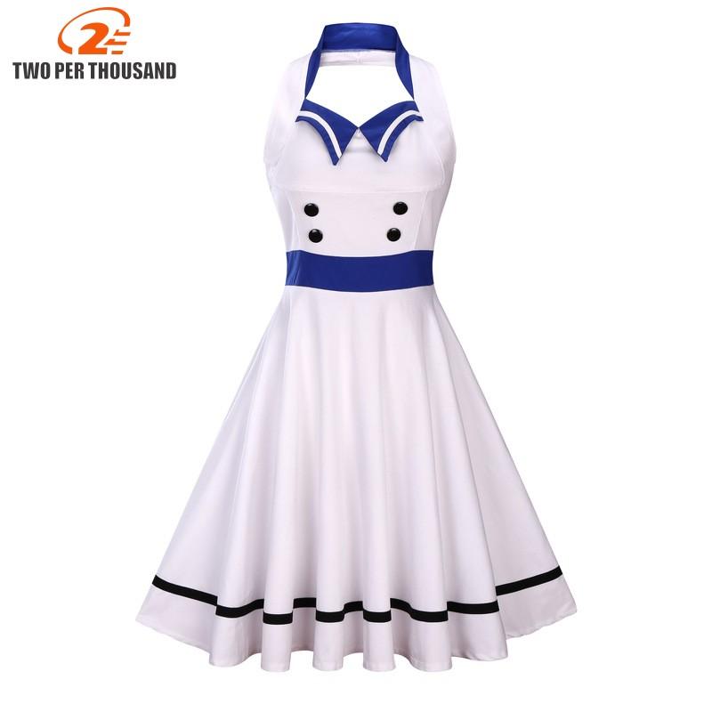 bed2e21b600fb S-3XL Women Robe Pin Up Dress Retro 2017 Vintage 50s 60s Rockabilly Swing  Sleeveless Summer female Dresses Elegant Tunic Vestido