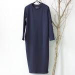 SCUWLINEN Winter Dress 2017 Vestido Women Dress Plus Size Velvet Thickening Thermal Basic Dress Long Sleeve Solid Warm Dress S59