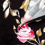 SISHION Plus Size Summer Dress S-XXL Women Sleeveless Black Floral Print Swing Retro Vintage Rockabilly Dress Party Gown 487